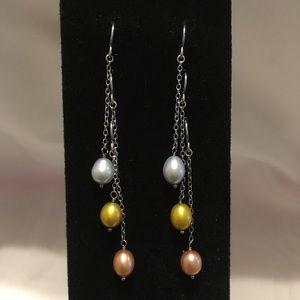 Honora freshwater cultured pearl earrings Set of 3